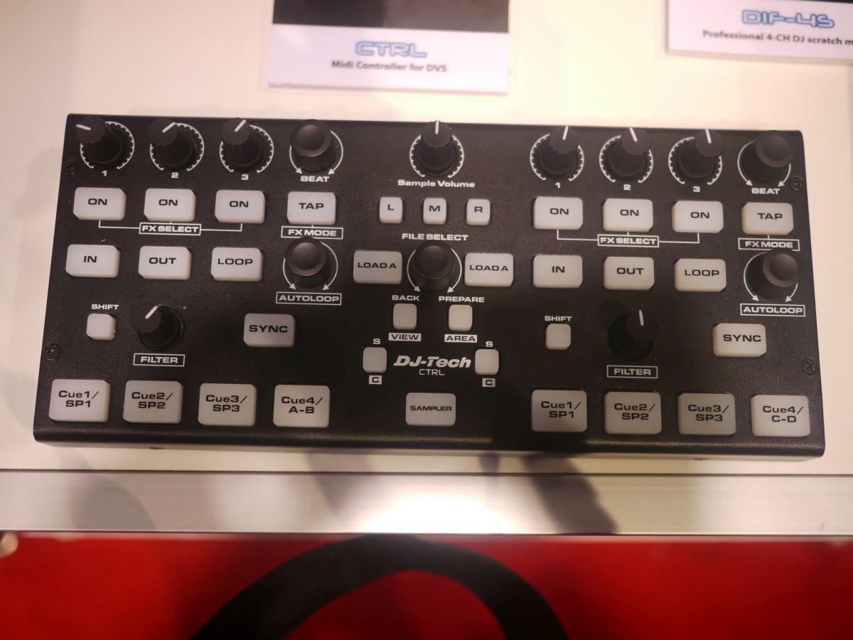 NAMM 2014: DJ Tech CTRL – kompakter DVS Controller