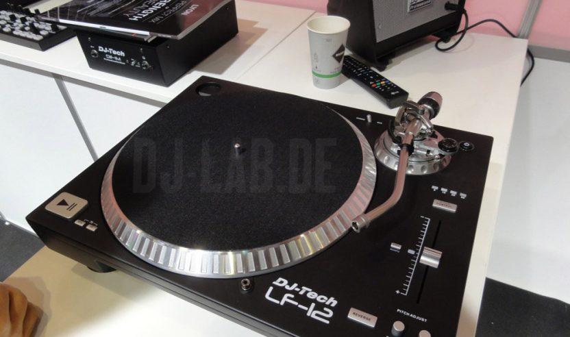 DJ Tech LF-12 - Plattenspieler mit DVS-Schleife, Musikmesse 2014