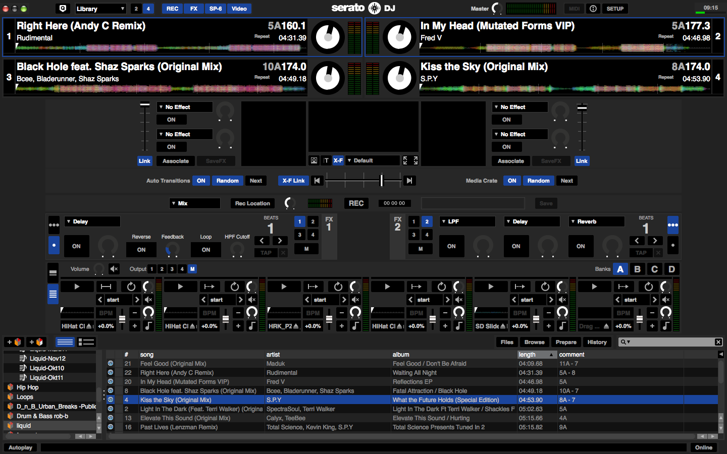 Serato DJ 1.6.1 Screenshot