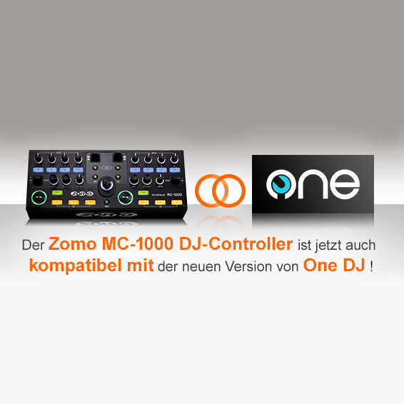 Video: Zomo MC-1000 Plug & Play kompatibel mit Software One DJ 1.5