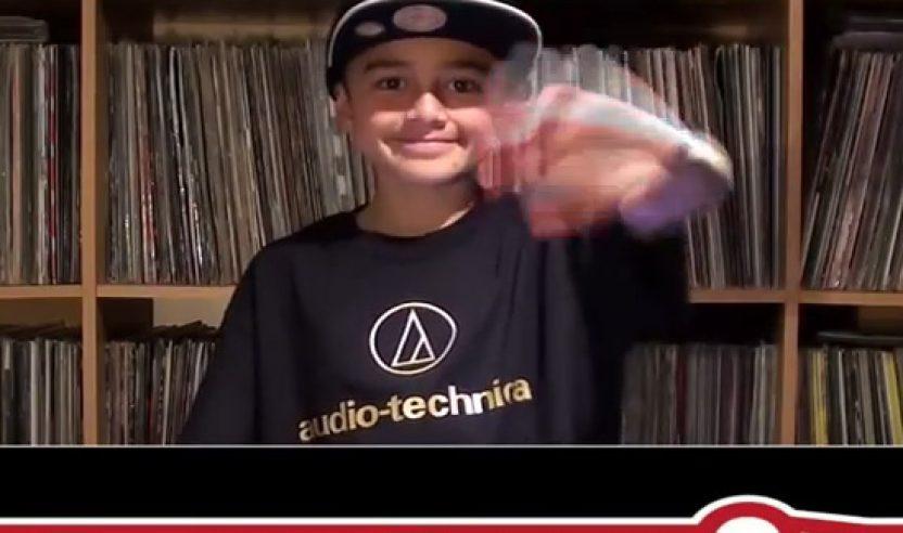 Video: DMC Online DJ Championship 2014 - 10-jähriger juggelt sich in Runde 8