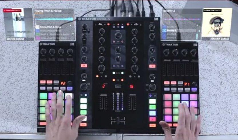 Video: Mad Zach am F1 - Live Remixing mit Loops