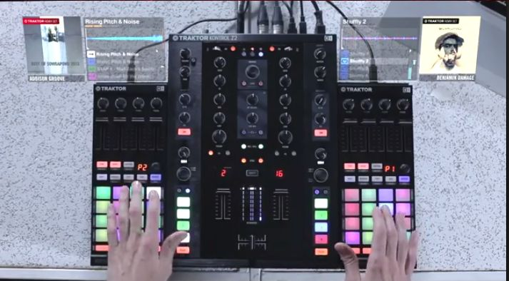 Video: Mad Zach am F1 - Live Remixing mit Loops