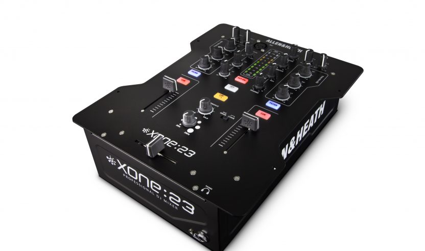 Test: Allen&Heath Xone:23C - 2-Kanal Mixer mit Audio-Interface