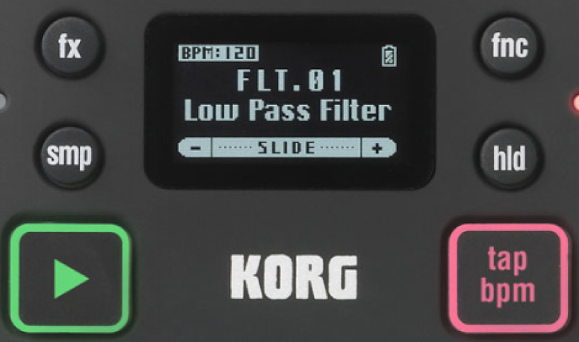 Neu: Korg mini KAOSS PAD 2S - Das Mini-Effektgerät jetzt mit Sampler