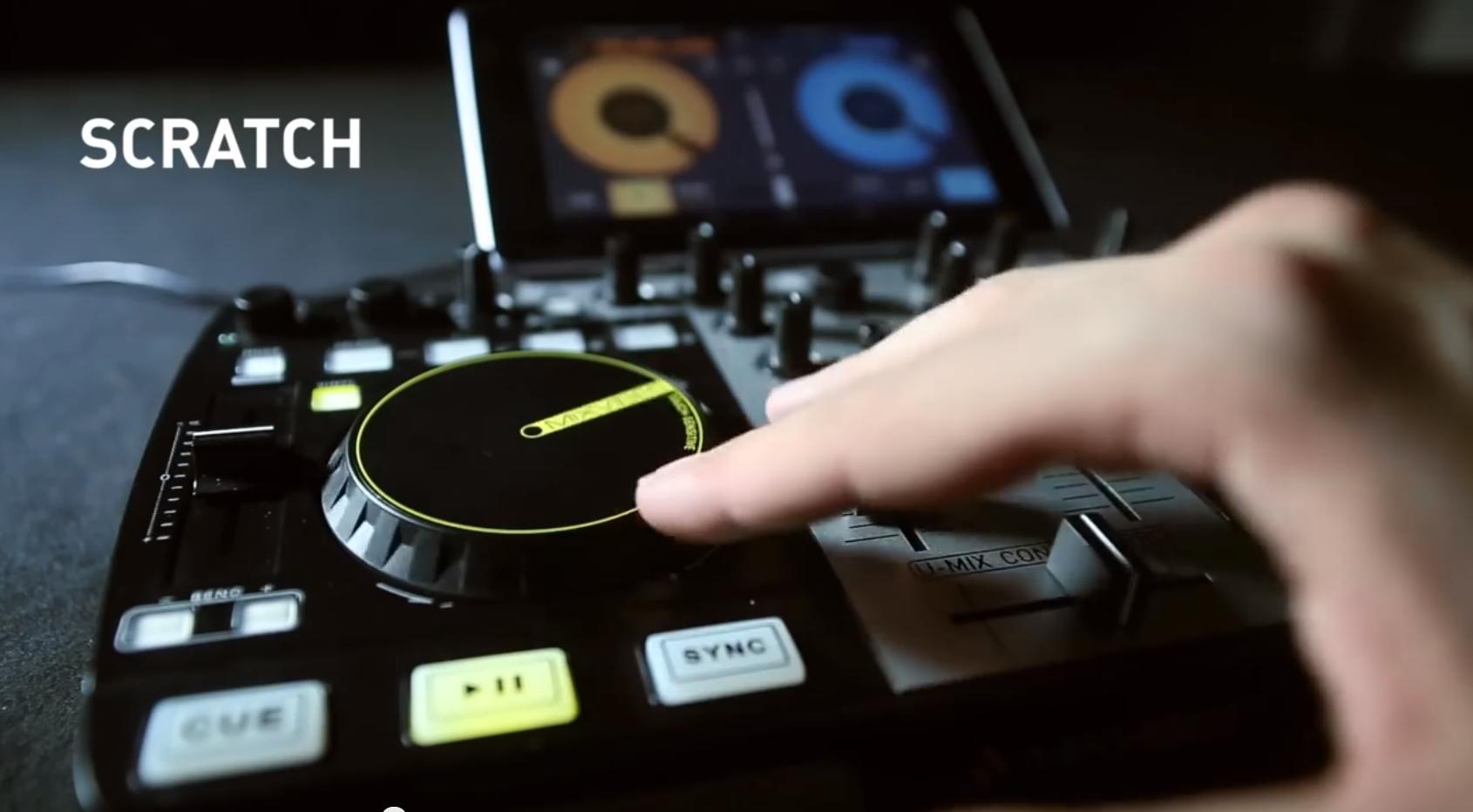 Mixvibes Cross DJ für Android - Jetzt mit MIDI