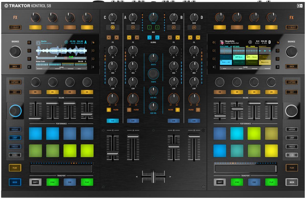 Neu: Fundierte News zum Traktor Kontrol S8 – Flagship All-in-one DJ System