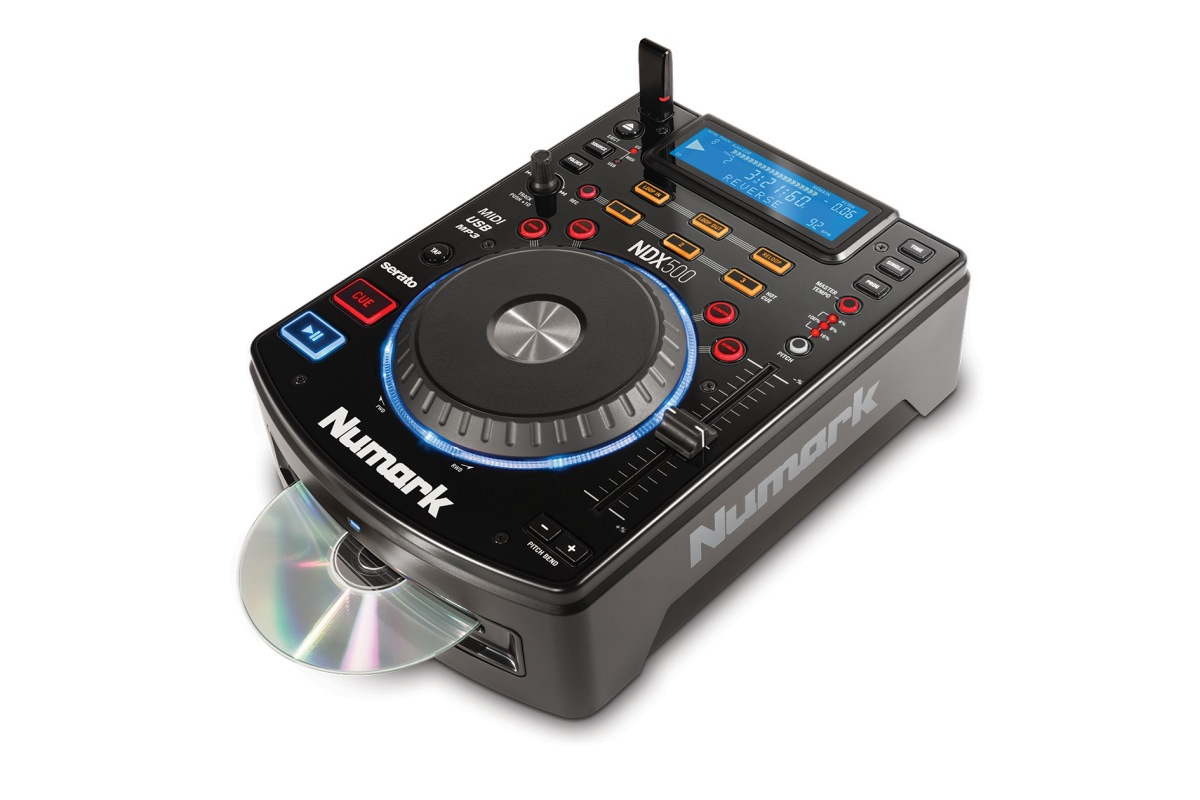 Neu: Numark NDX-500 – CD-Media-Player mit Serato Support