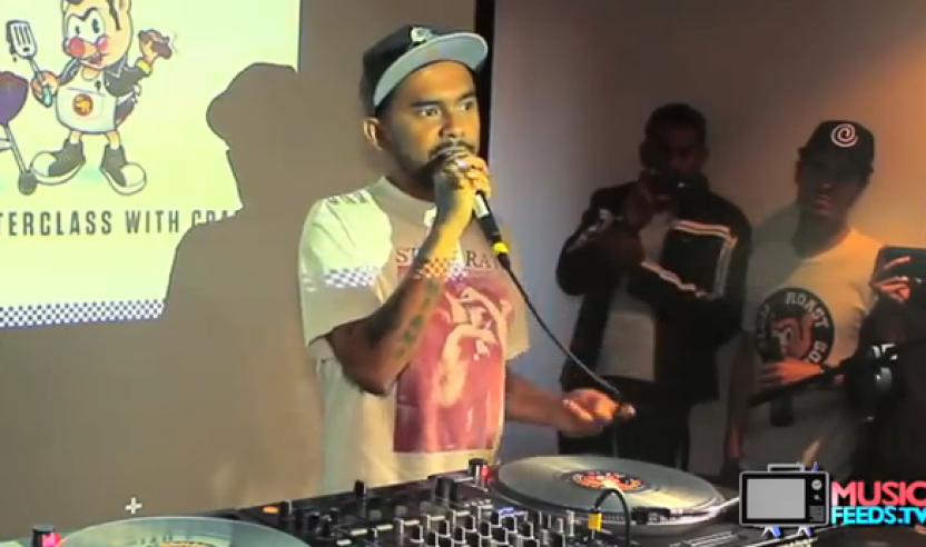 Video: Kurzinterview mit DJ Craze auf Music Feeds TV