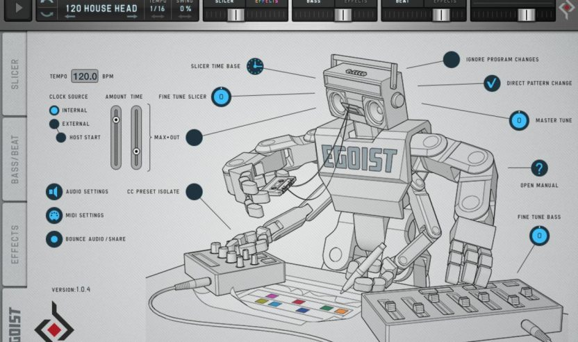 Test: Sugar Bytes Egoist iOS-App - Sample-Slicer, Synthie und Effekte