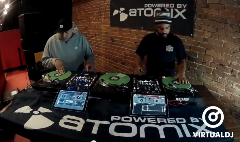 Promo Video: Atomix Power Room - Virtual DJ Pro 8 DVS