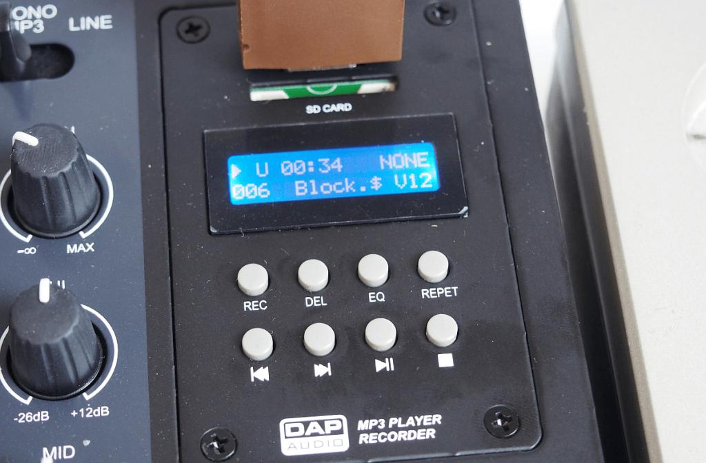 Core Mix-4 MP3 Modul