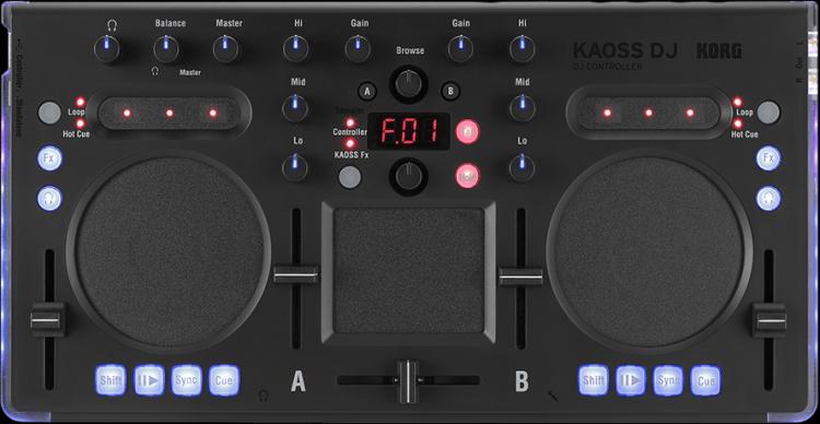 Korg Kaoss DJ Controller Mixer