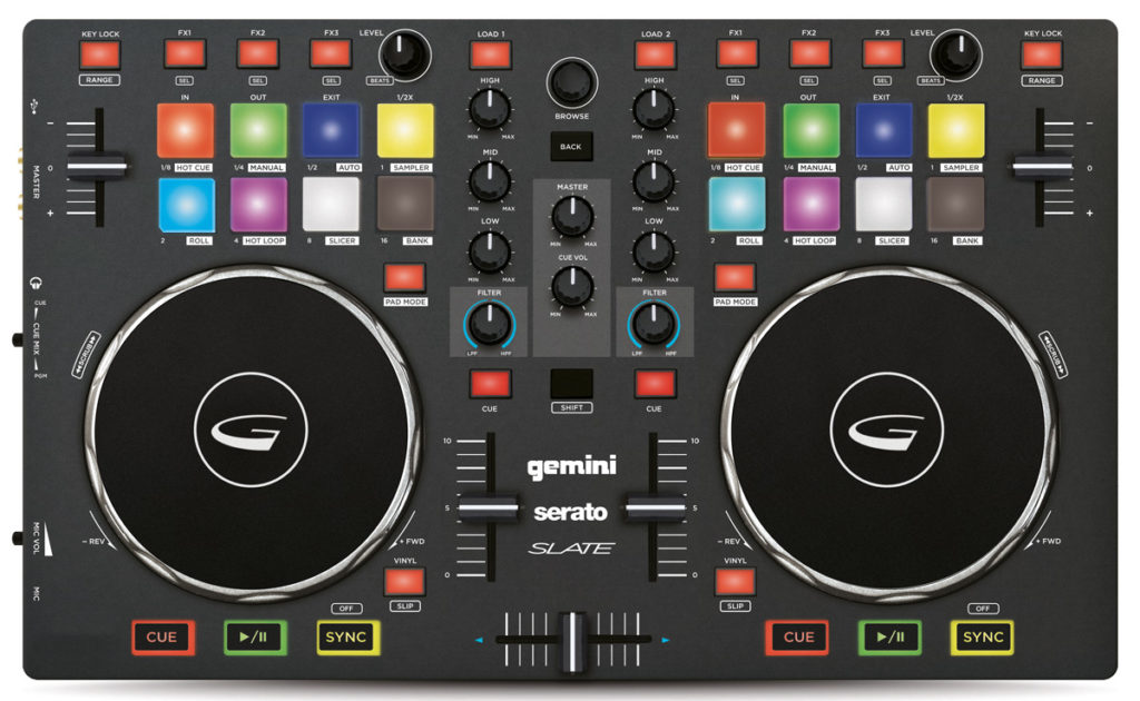 DJ-Controller für Einsteiger: Gemini Slate.