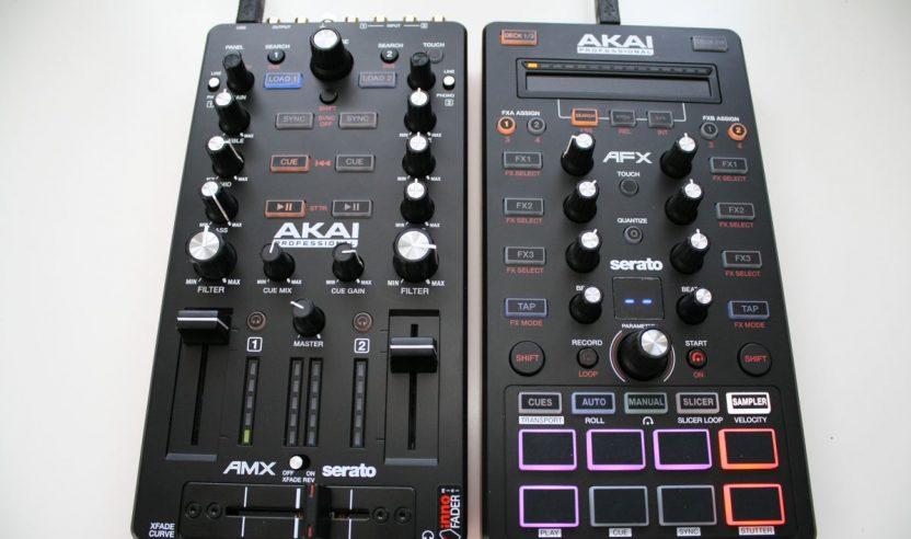 Test: Akai AMX & AFX – neues Controller-Paar für Serato DJ