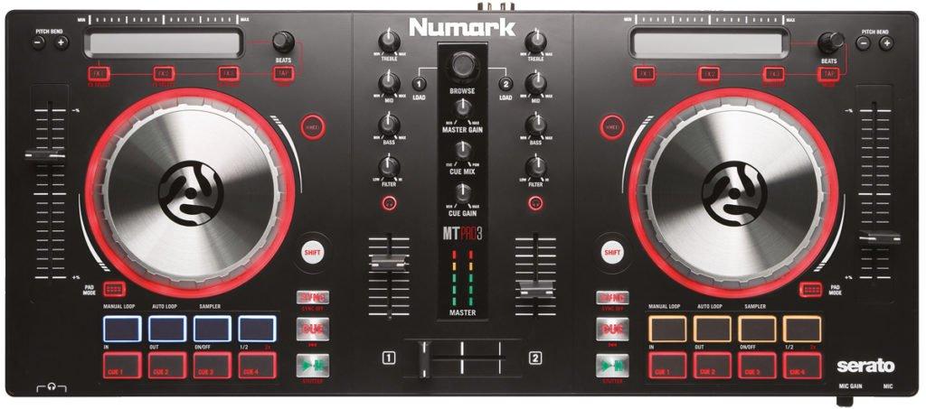DJ-Controller für Einsteiger: Numark Mixtrack Pro 3.