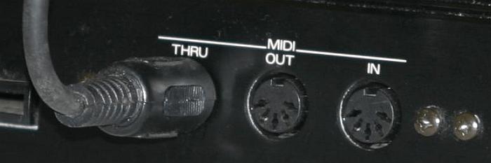 MIDI Anschluss