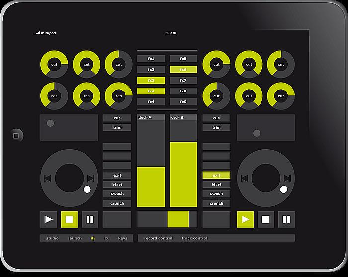 MIDIPAD App