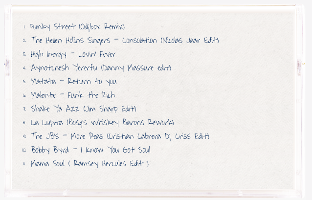 Funky Party Tracklist