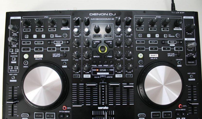Test: Denon MC6000 MK2 – 4-Kanal Controller für Serato