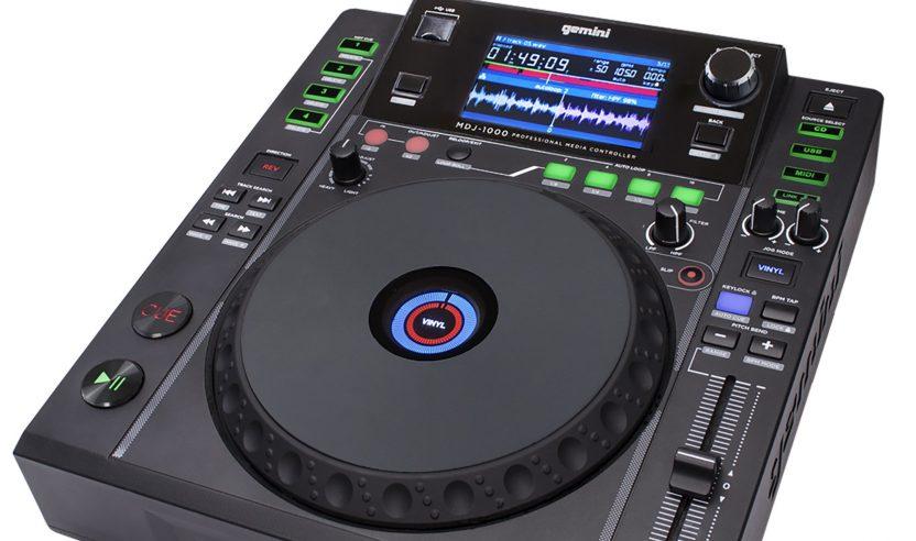 Neu: Gemini MDJ-1000 - Tabletop Crossmedia-Player