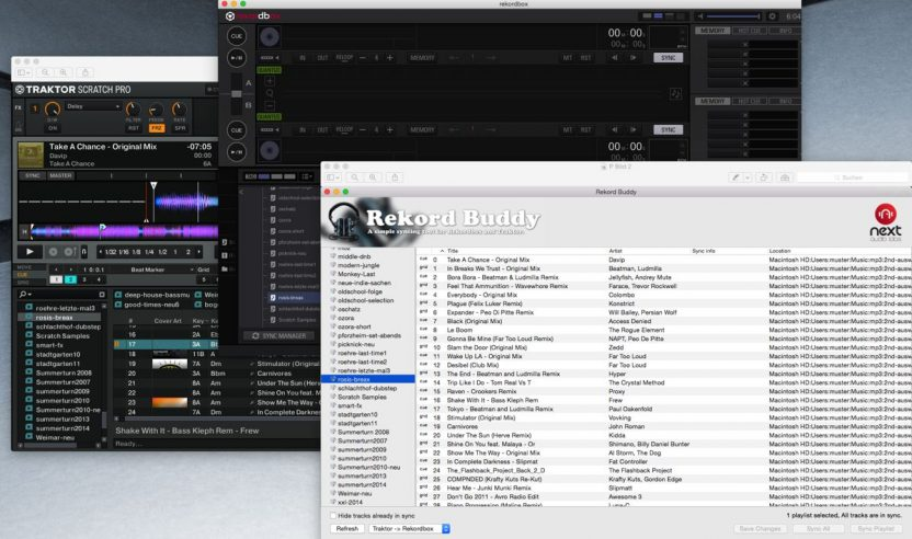 Test: Rekord Buddy – Traktor Pro und Rekordbox Sync-Software