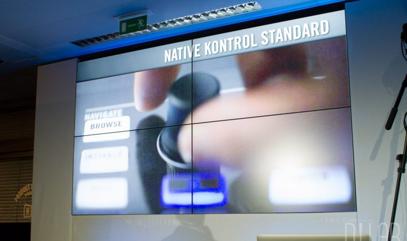 Komplete Kontrol Demonstration, Musikmesse 2015