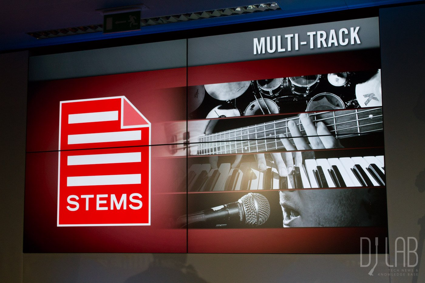 STEMS Demonstration, Musikmesse 2015