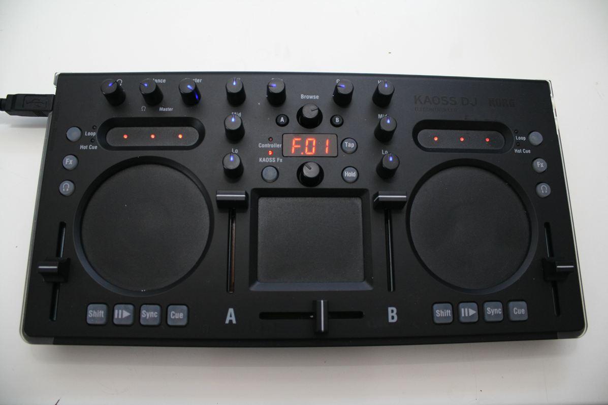 Test: Korg Kaoss DJ – DJ-Controller mit Kaoss-Effekten