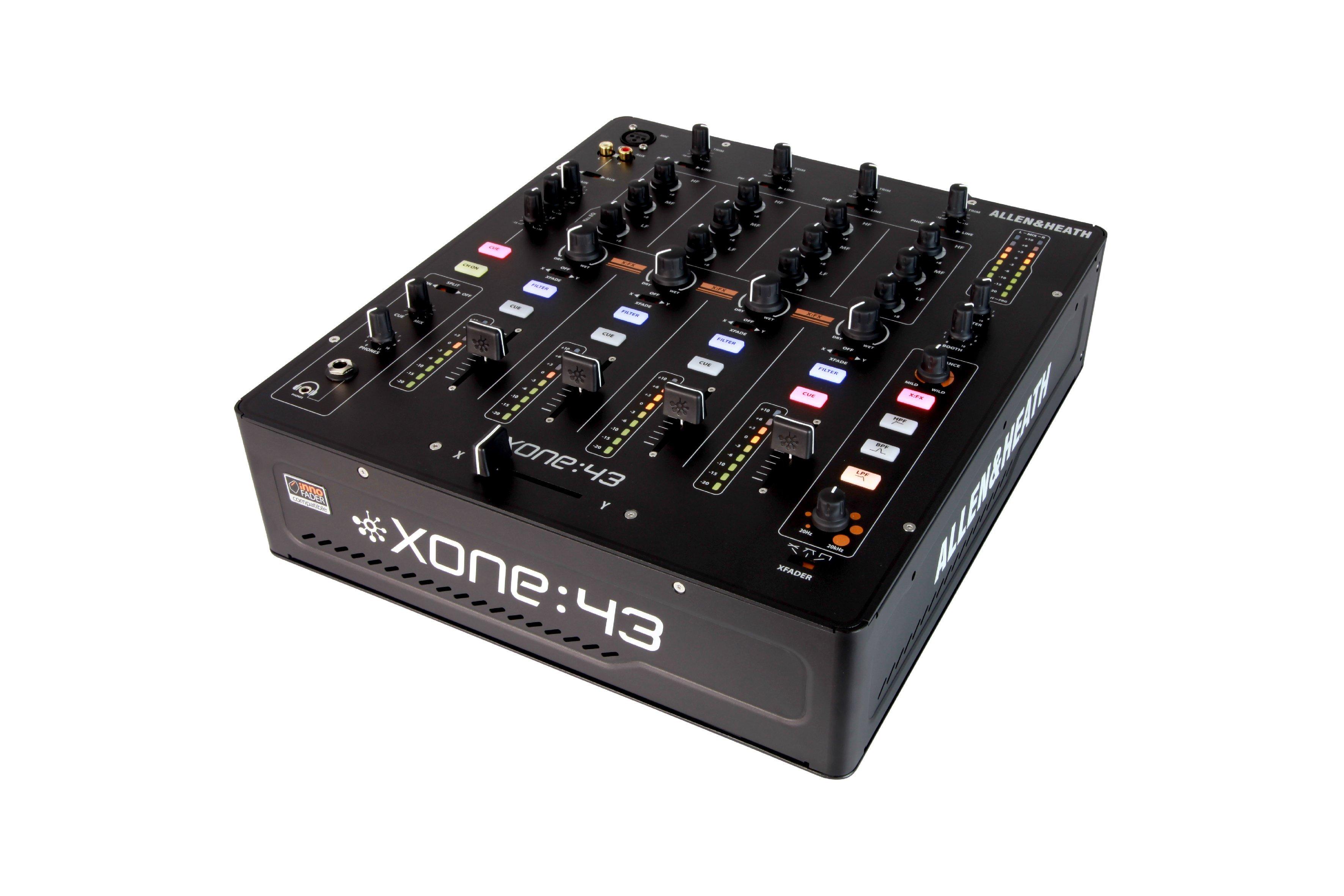 Neu: Allen & Heath Xone:43 - Analoger 4-Kanal Mixer