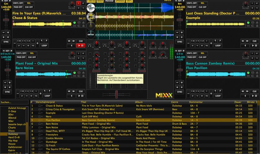 Update: Mixxx 1.12 Beta - kostenlose DJ-Software