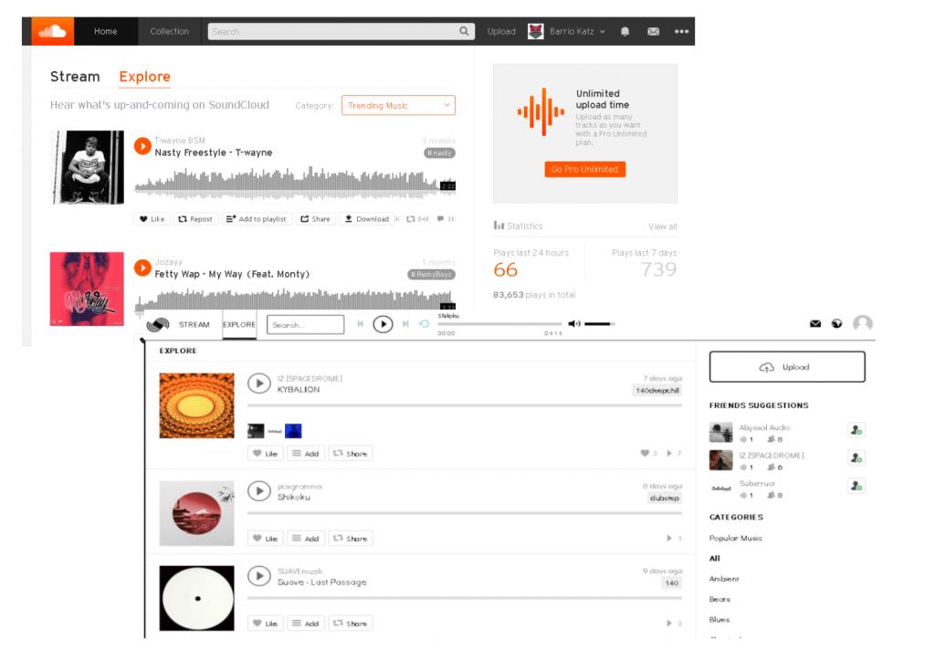 Octavr vs Soundcloud