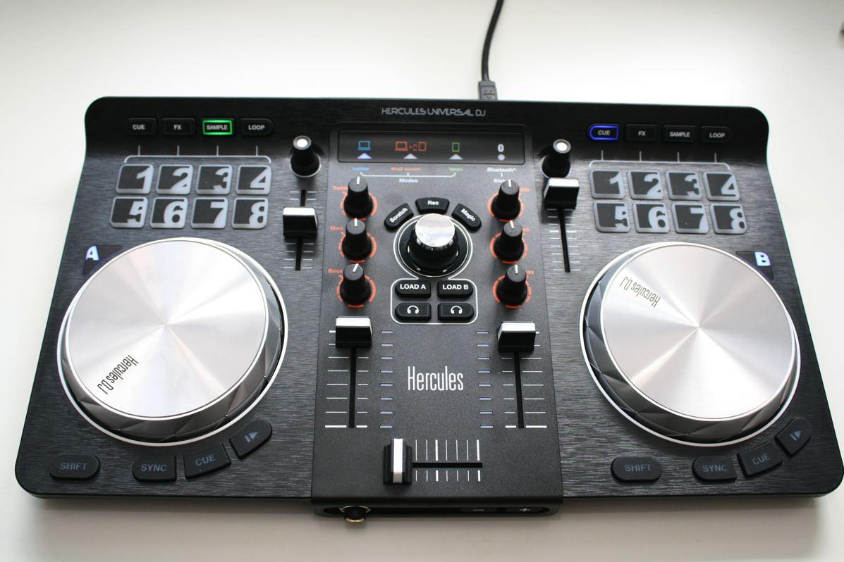 Test: Hercules Universal DJ – Bluetooth Einstiegs-Controller