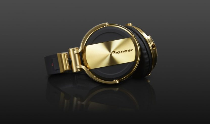 Neu: Pioneer HDJ-1500 N - DJ-Kopfhörer in Gold