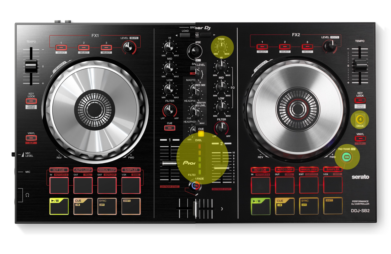 ddj sb pioneer software and firmware update