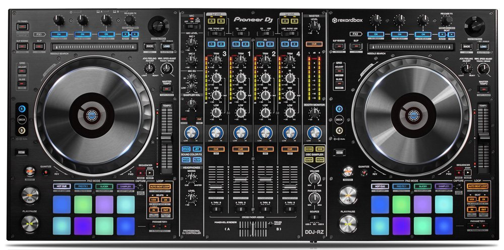 Neu: Pioneer DDJ-RX und DDJ-RZ - Erste Controller für Rekordbox DJ