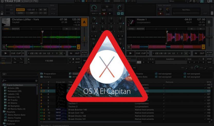 Warnung: Mac OSX 10.11 El Capitan bereitet Probleme