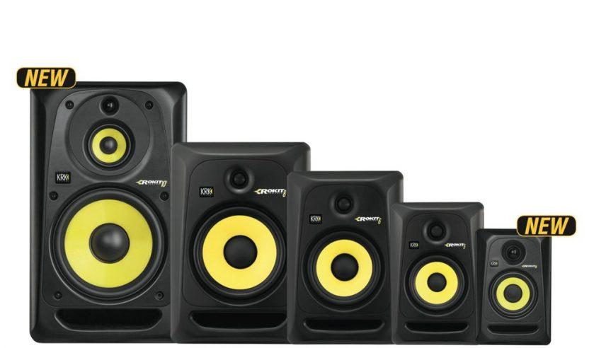Neu: KRK RP4 G3 & RP103 G3 Monitorbox