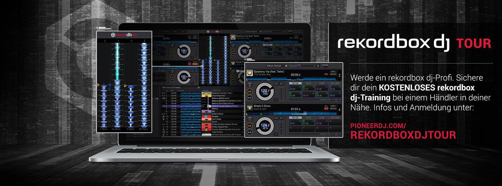 Rekordbox DJ Workshop Tour 2015