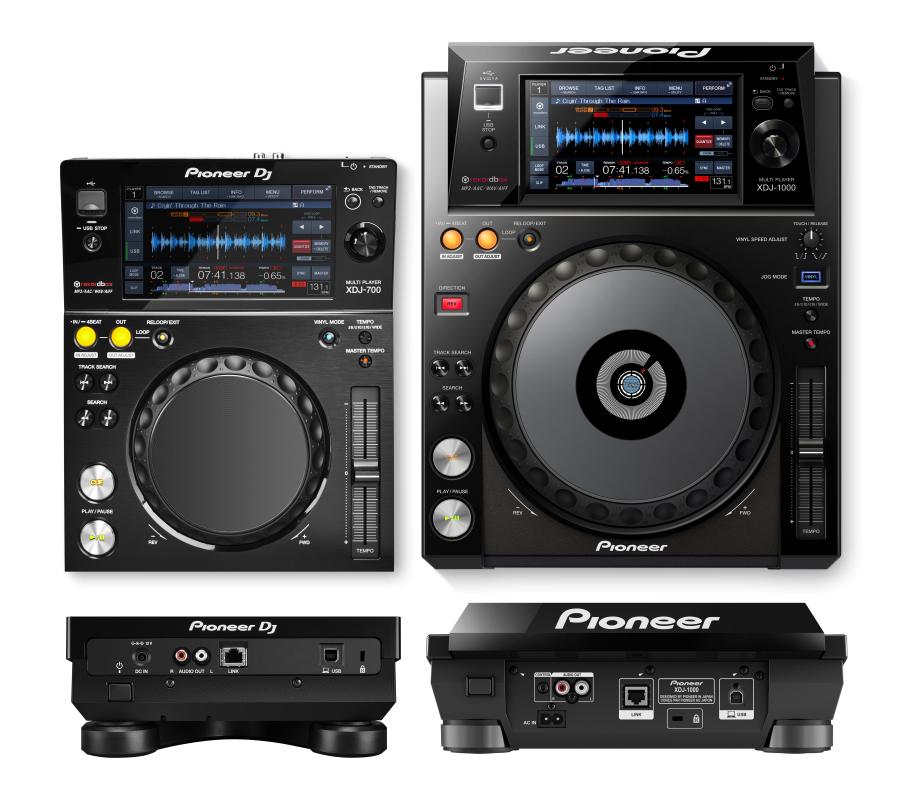 Pioneer XDJ 700 vs XDJ 1000