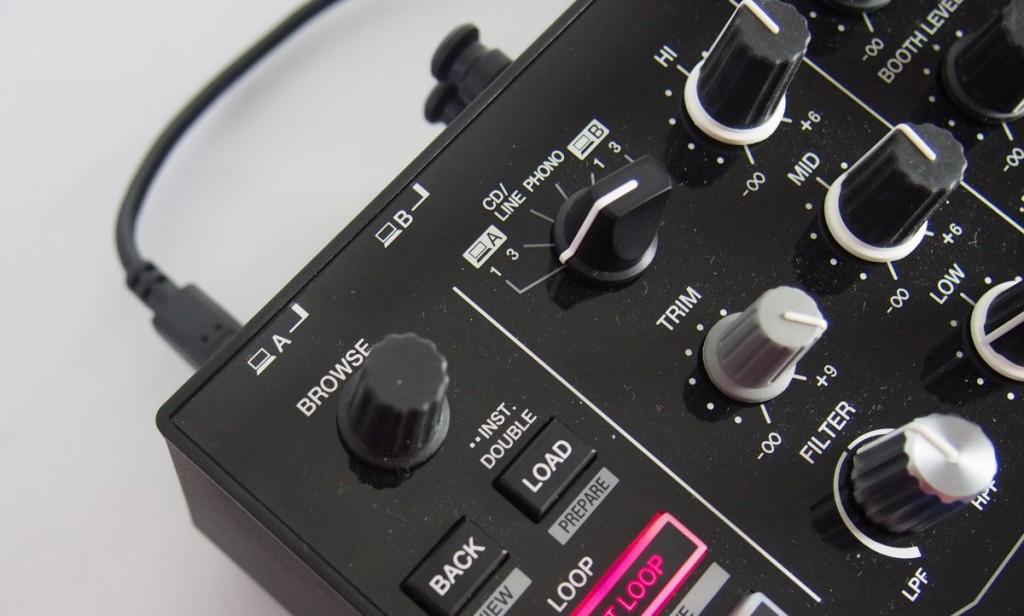 Pioneer DJM S9 Browser und MIDI