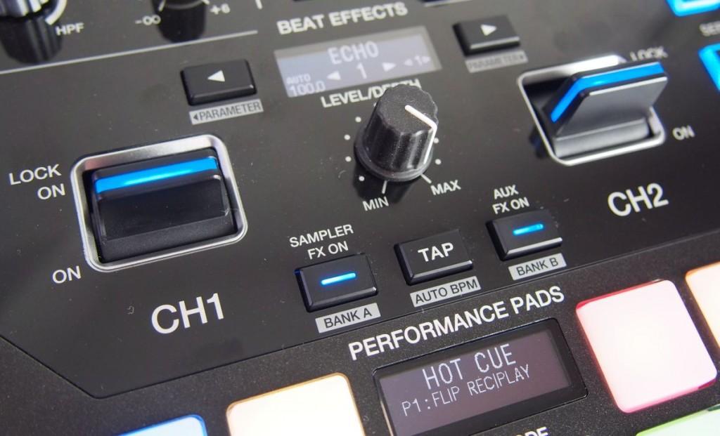 Pioneer DJM S9 Displays