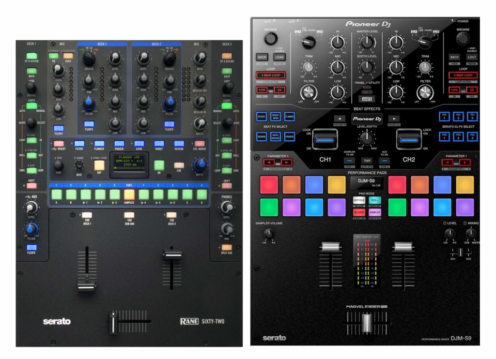 Rane 62 vs Pioneer DJM S9