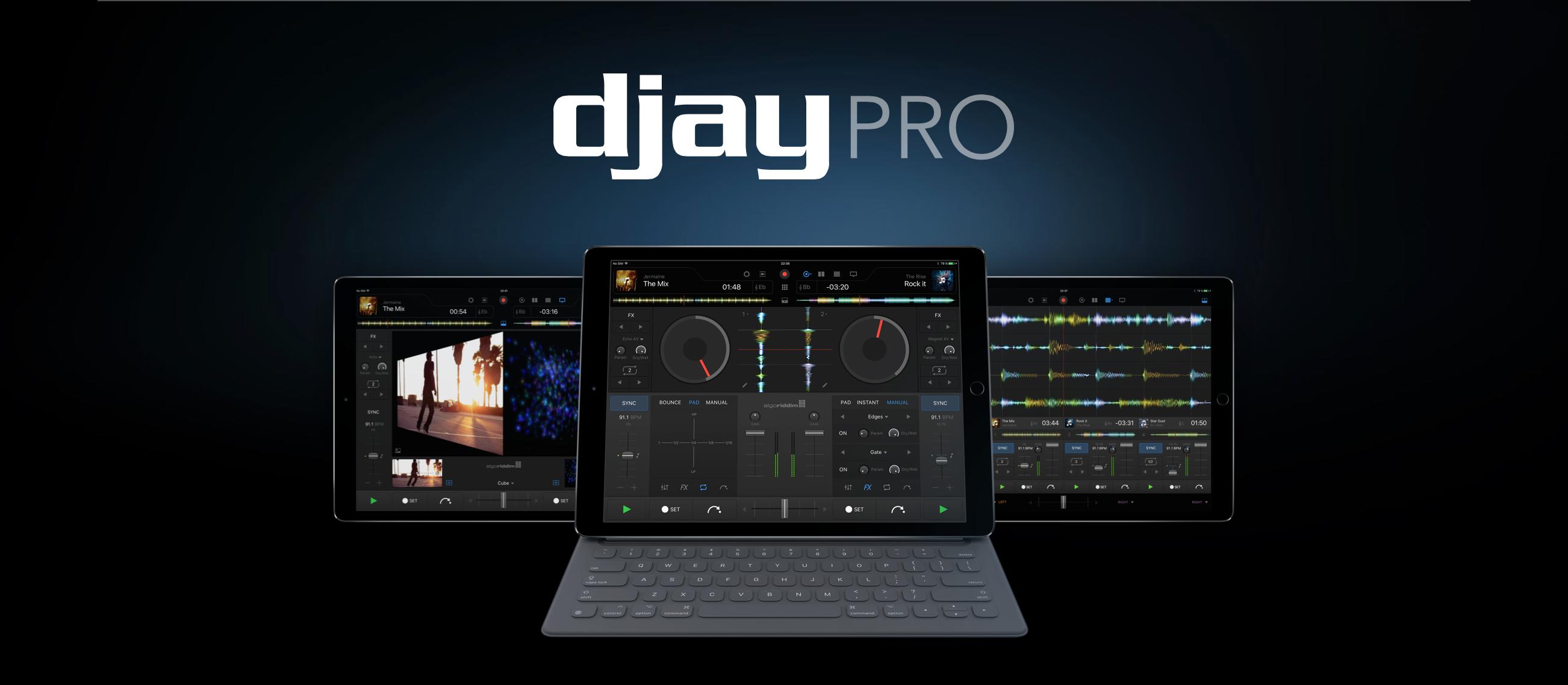 Neu: Algoriddim djay Pro - Jetzt auch fürs iPad