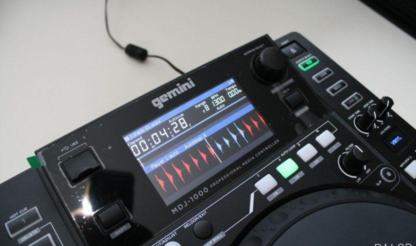 Test: Gemini MDJ-1000 - Crossmedia-Player