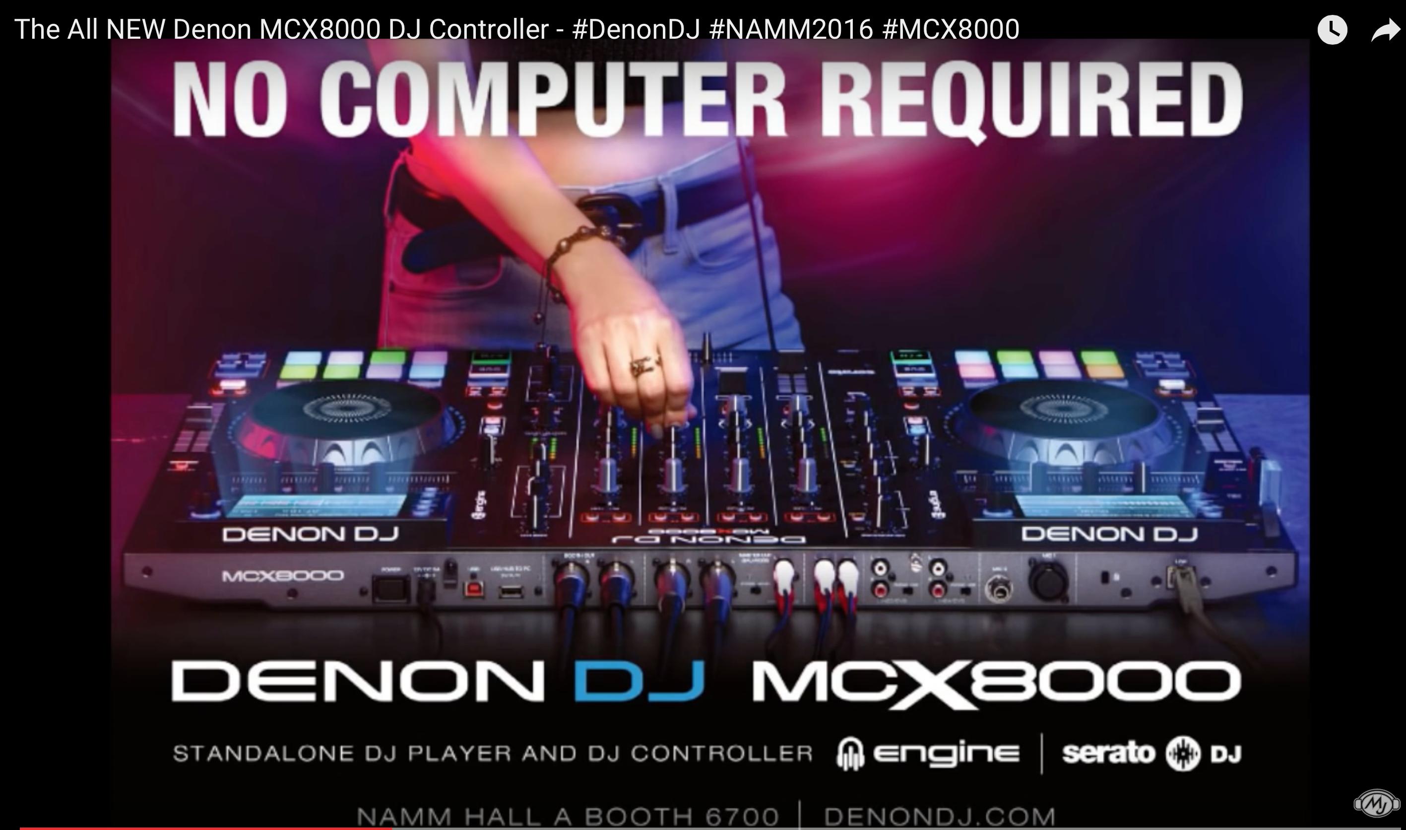 Leak: Denon DJ MCX8000 - Standalone DJ-Controller