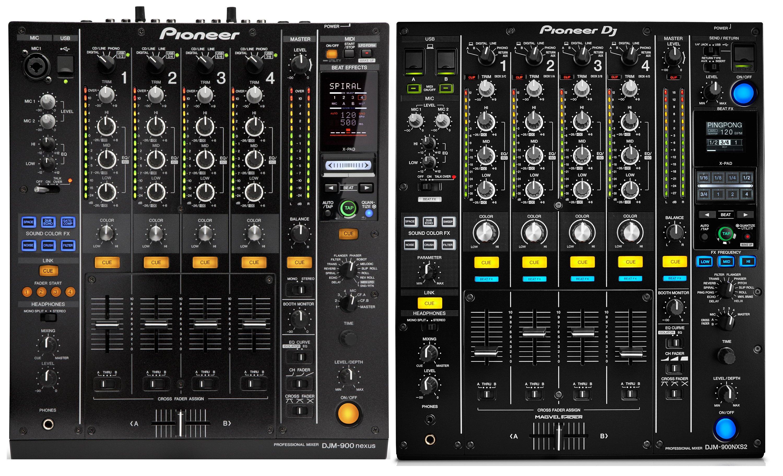 Pioneer DJM-900NXS2 vs. DJM-900NXS - Was ist neu?
