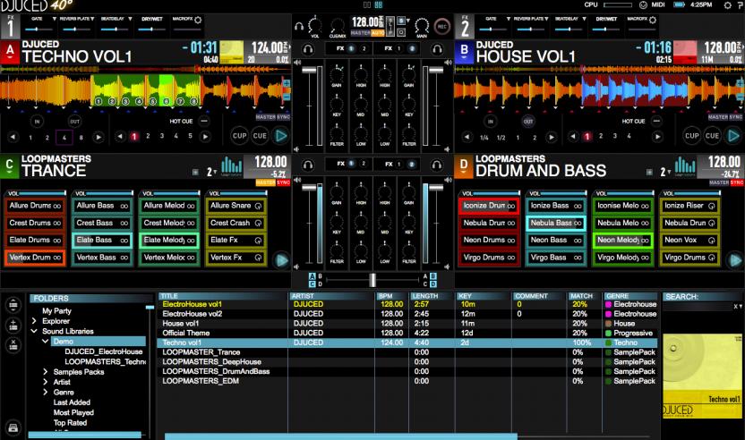 DJUCED 40° 3.0 & Hercules P32 DJ – Pad-Controller mit eigener Software, NAMM 2016