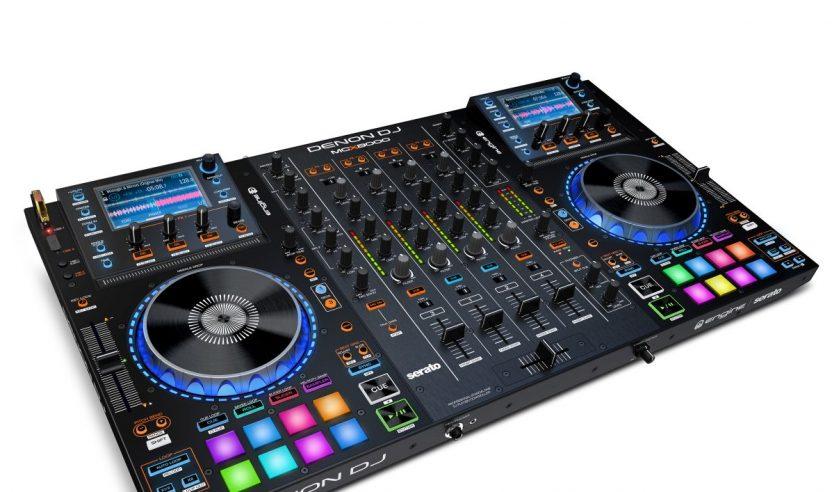 Neu: Denon DJ MCX8000 – Denon DJ´s Antwort auf den Pioneer XDJ-RX, NAMM 2016