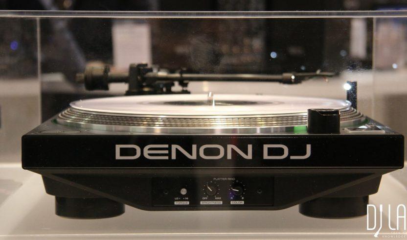 Neu: Denon DJ VL12 - DJ-Plattenspieler mit LED-Ring, NAMM 2016